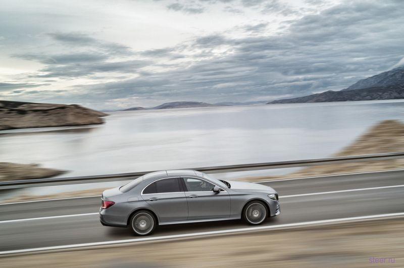 Опубликованы фотографии нового Mercedes-Benz E-Class