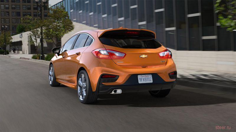 Официально представлен новый Chevrolet Cruze