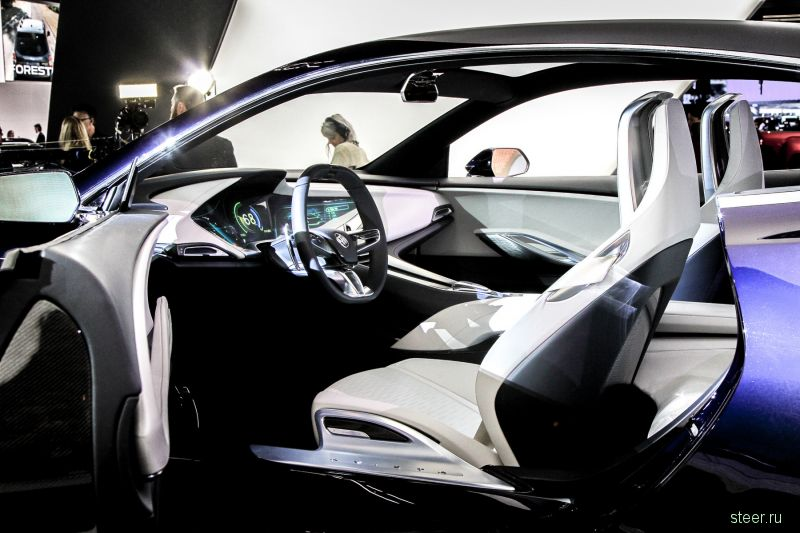 Концепт-кар Buick Avista : новое роскошное купе от GM