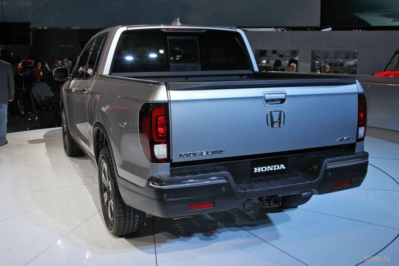 Новый Honda Ridgeline : машина для «короля уличных дискотек»