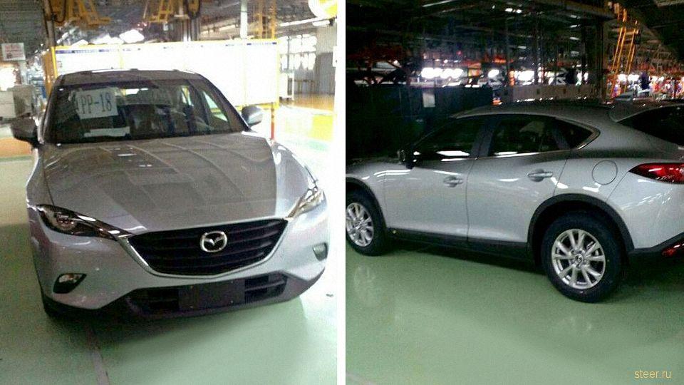 Первые фото новой Mazda CX-4 в стиле BMW X4
