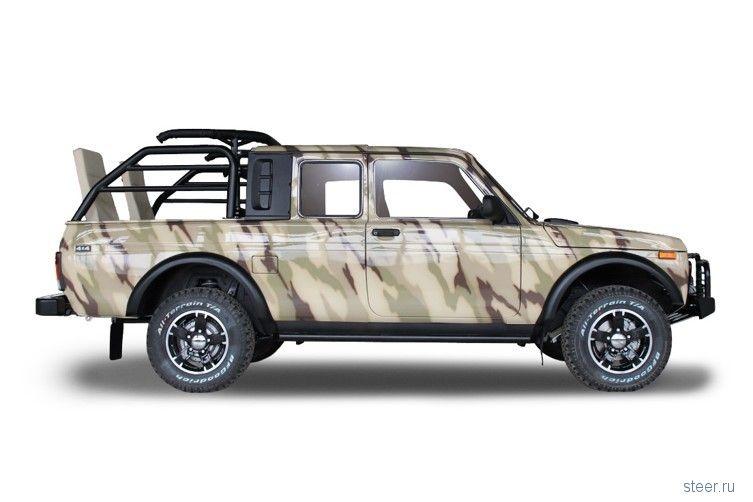 АвтоВАЗ готовит ограниченную партию спец-версии Lada 4x4