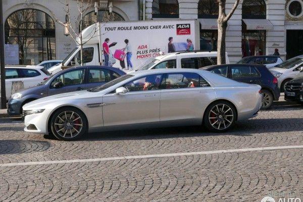 Первые фото Aston Martin Lagonda
