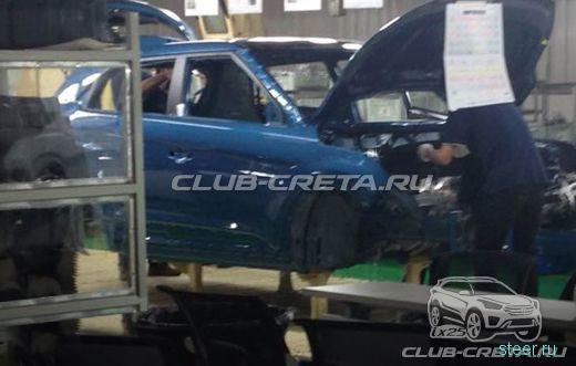 Hyundai готовится собирать в России кроссоверы Creta