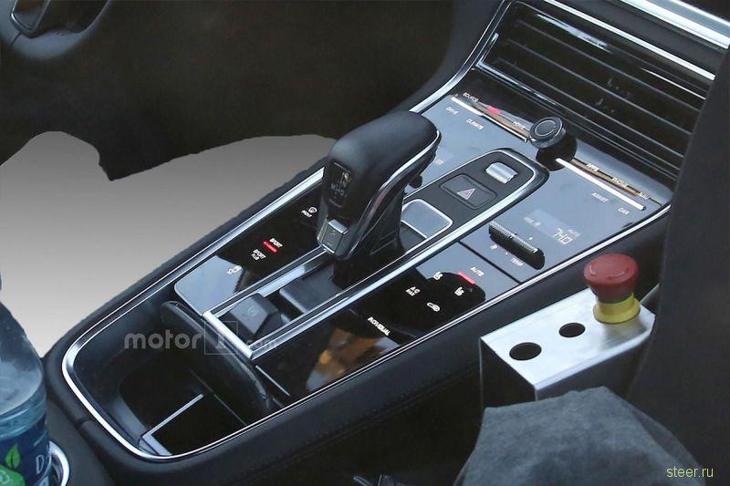 Первые фотографии салона нового Porsche Panamera