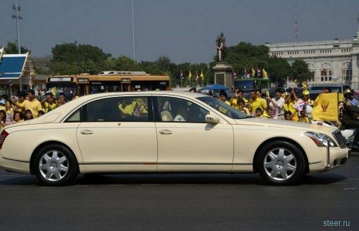 10 самых дорогих автомобилей, на которых ездят главы государств