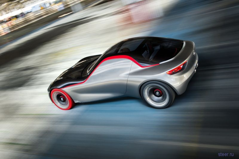 Opel показал новое концептуальное купе GT