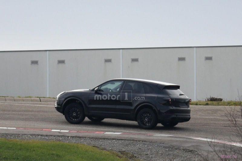 Фотошпионы поймали новый Porsche Cayenne