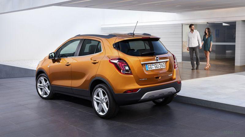 Opel обновила кроссовер Mokka
