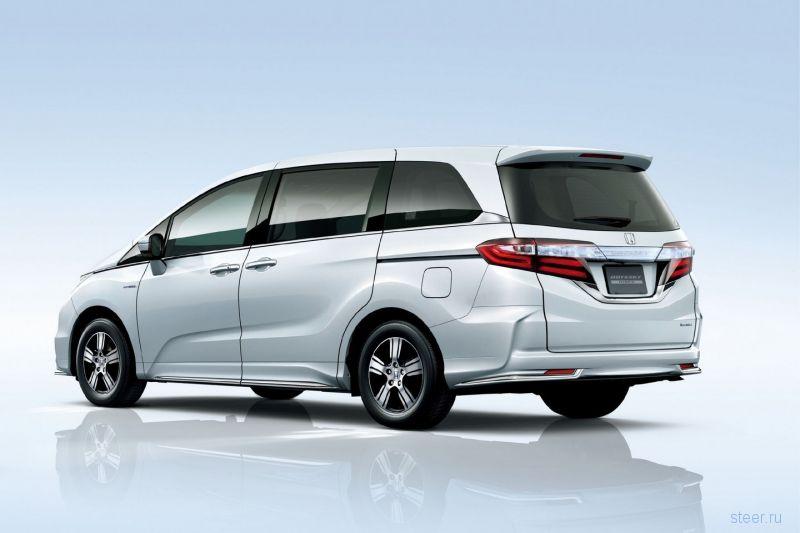 В Японии начались продажи гибридного минивэна Honda Odyssey