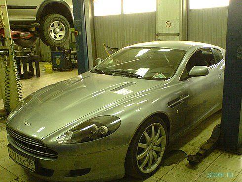 Близкое знакомство с Aston Martin, закончившееся полным разочарованием