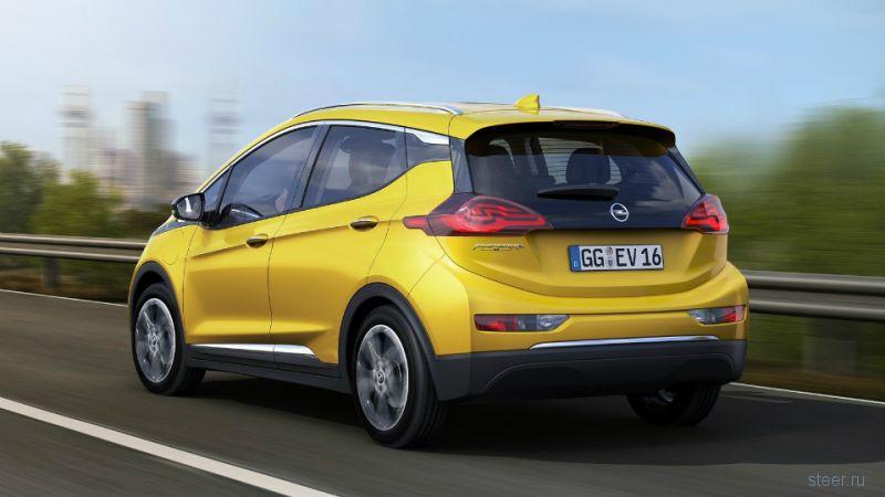 Opel Ampera-e : доступный электрокар на замену гибридной «Ампере»