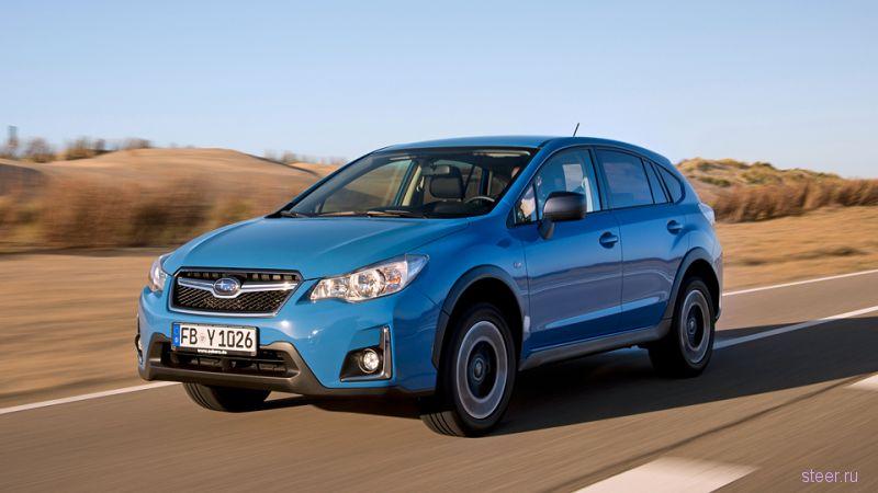 Российские продажи нового Subaru XV стартуют в марте