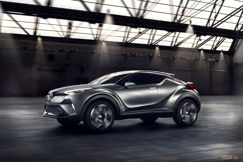 Toyota CH-R будут собирать в Турции