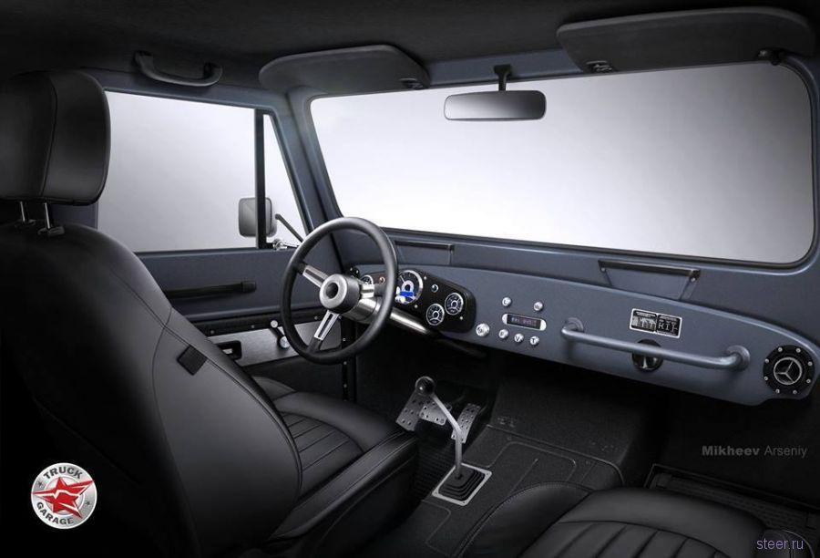 На «новый» ГАЗ-69 будет ставить дизель от Toyota