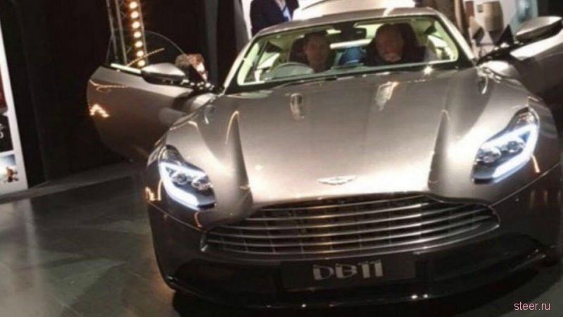 Первые фото нового суперкара Aston Martin DB11