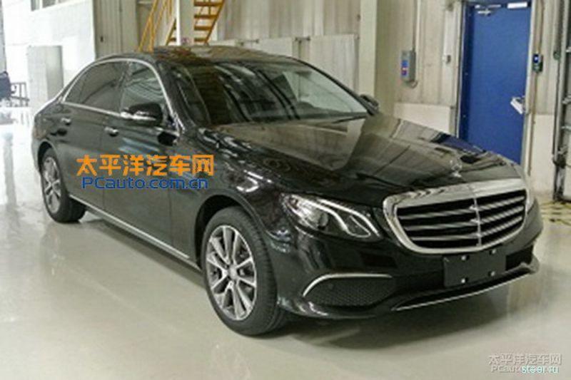 Первые фото длиннобазной версии Mercedes E-класса