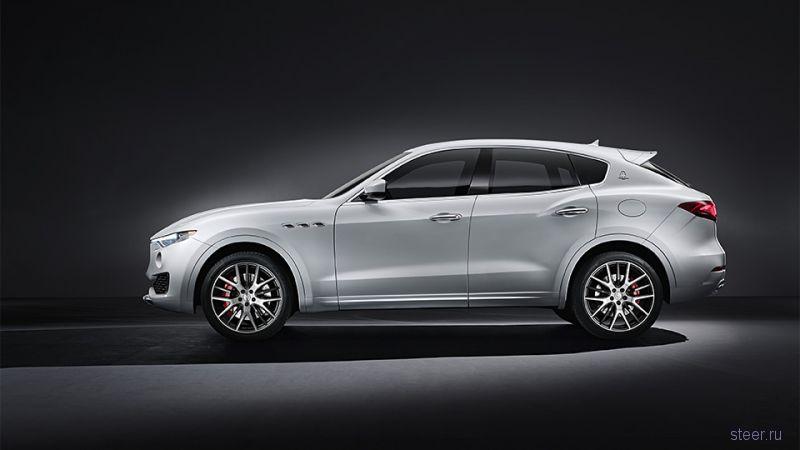Maserati официально представила первый в своей истории кроссовер Levante
