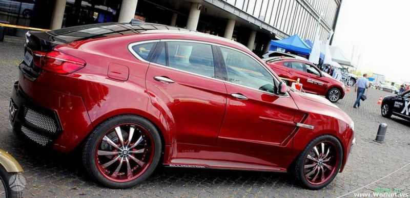 Тюнинг кроссовера BMW X6 от литовской компании AG Excalibur