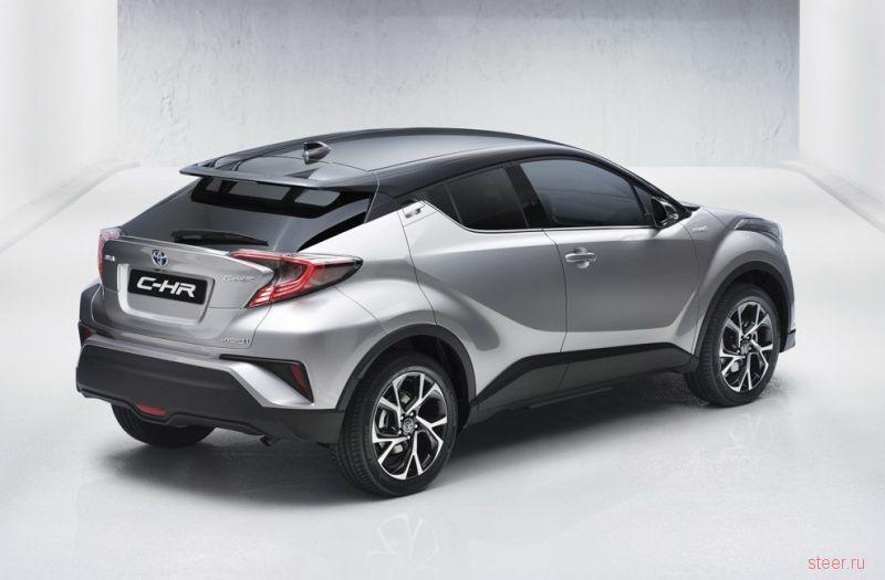 Кроссовер Toyota C-HR: первые изображения
