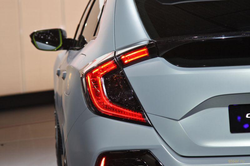 Хонда показала новый хэтчбек Honda Civic