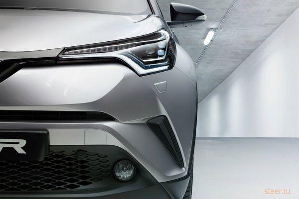 Официальная премьера кроссовера Toyota C-HR