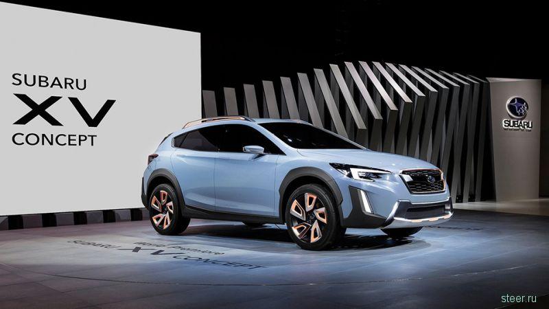 Subaru показала прототип нового XV
