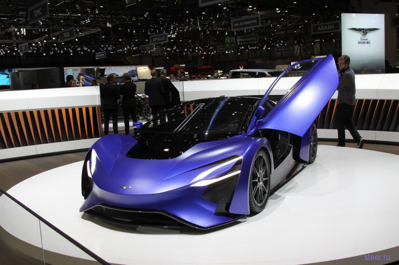 Новый китайский автомобиль Techrules