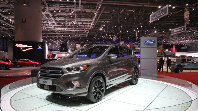 Обновленный кроссовер Ford Kuga будут продавать в России уже в 2016 году