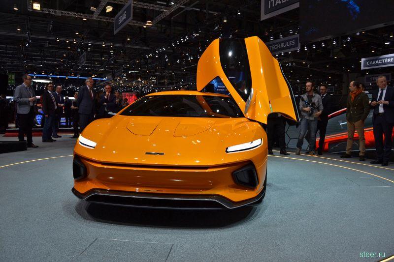 GTZero — очень красивый итальянский спорткар
