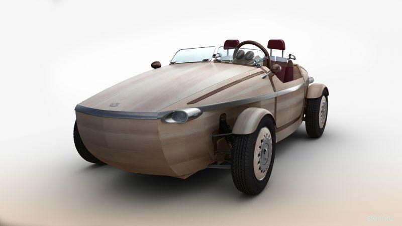 Концепт-кар Toyota Setsuna: японский деревянный автомобиль