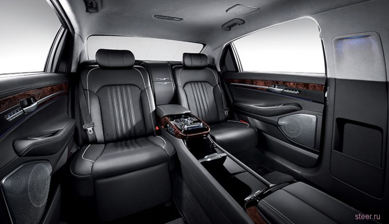 Новый Hyundai Genesis EQ900 Limousine (L) - конкурент Maybach ?