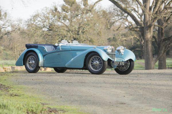 Bugatti 57SC 1937 года продан за 9,7 миллиона долларов