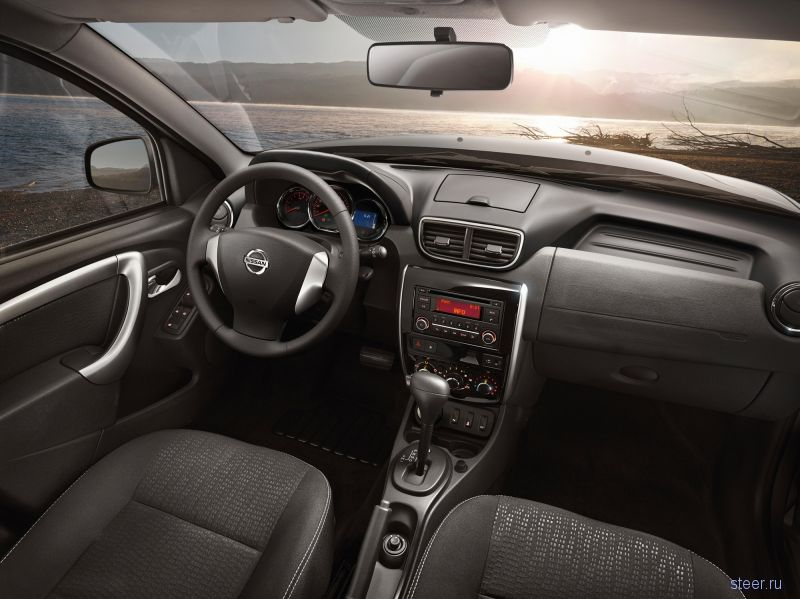 Обновленный российский Nissan Terrano