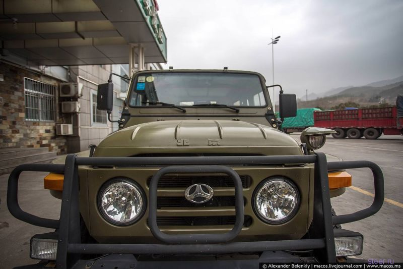 Китайцы скопировали русский УАЗ