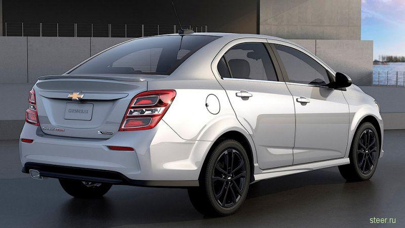 Обновленный Chevrolet Aveo представлен в Америке