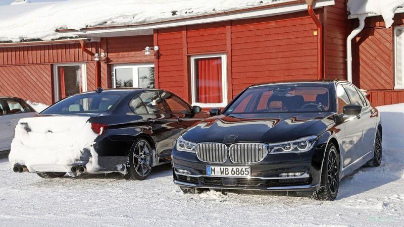 Первые фото BMW M7