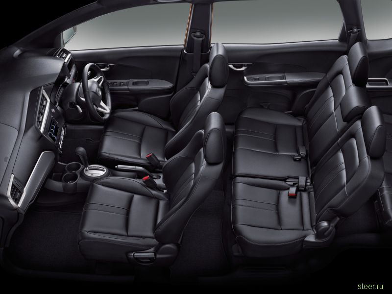 Первая информация о кроссовере Honda BR-V