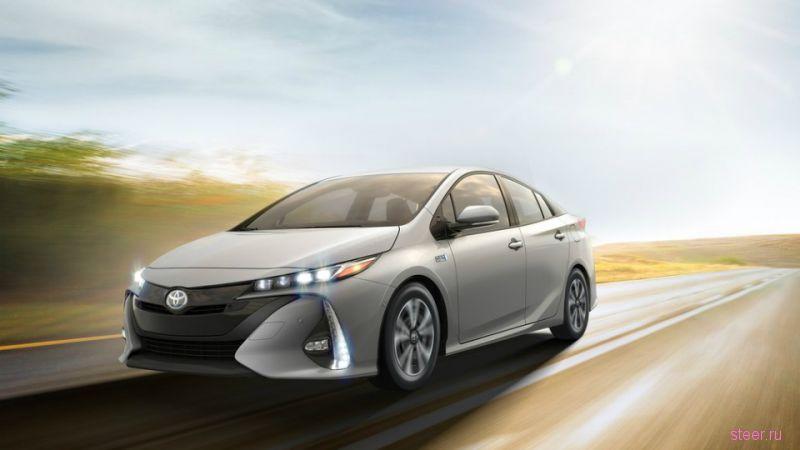 Новый Toyota Prius Prime будет тратить 1,4 литра бензина на 100 км