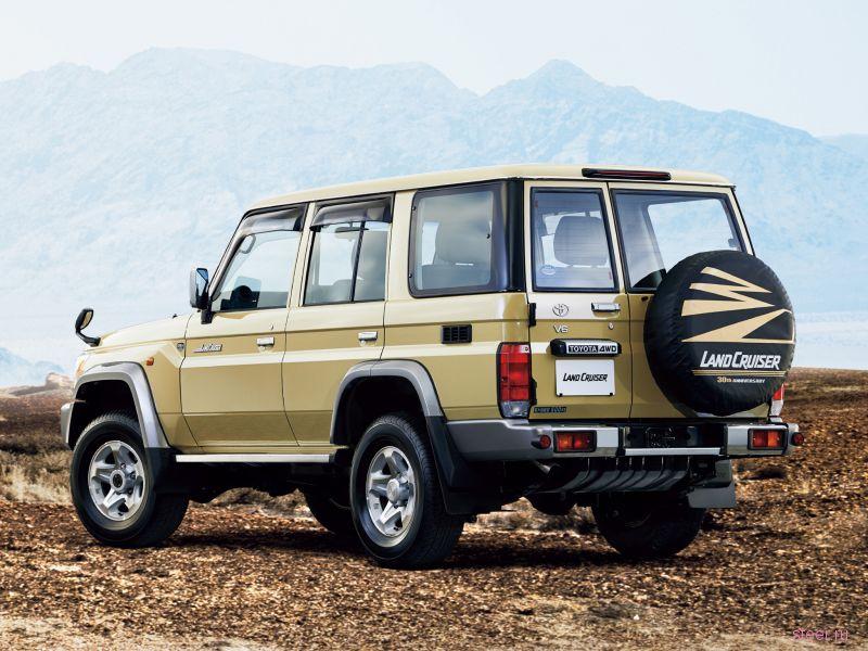 На российском рынке может официально появиться внедорожник Land Cruiser 70
