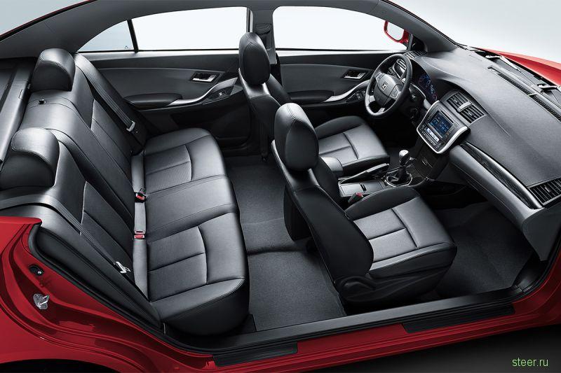 В России начались продажи китайского седана Zotye Z300
