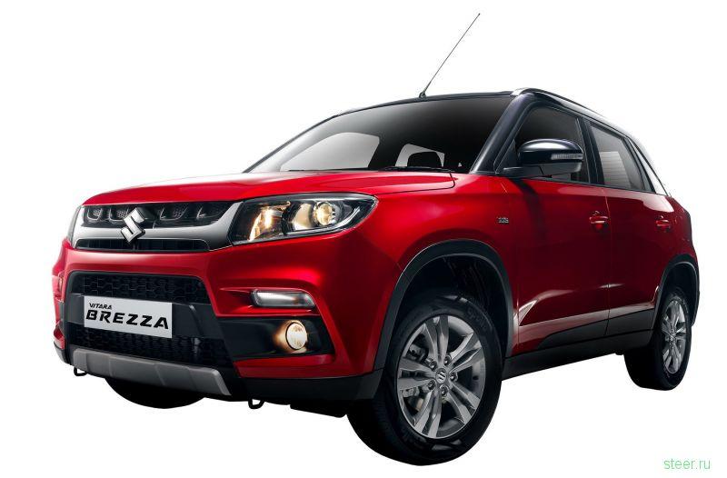 Suzuki Vitara Brezza : кроссовер на базе хэтчбека Swift