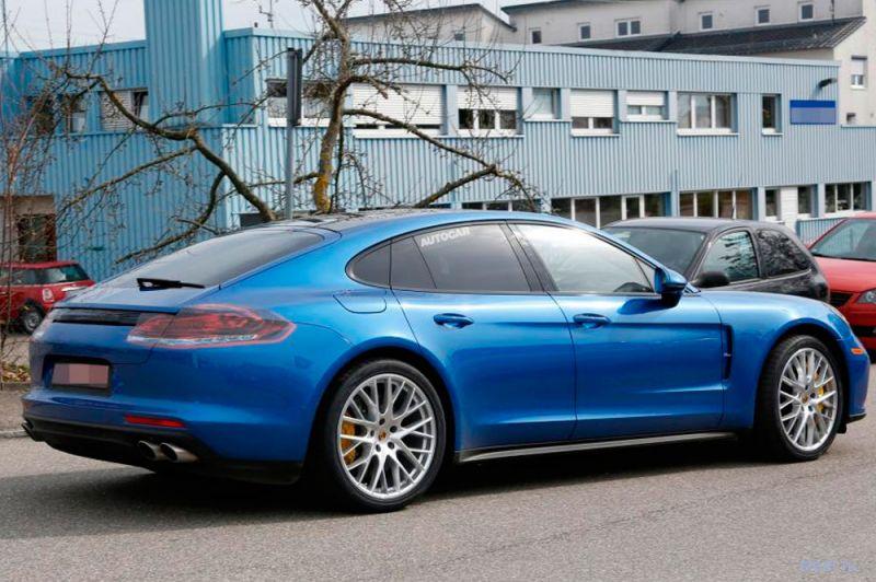 Дизайн новой Porsche Panamera рассекретили до премьеры