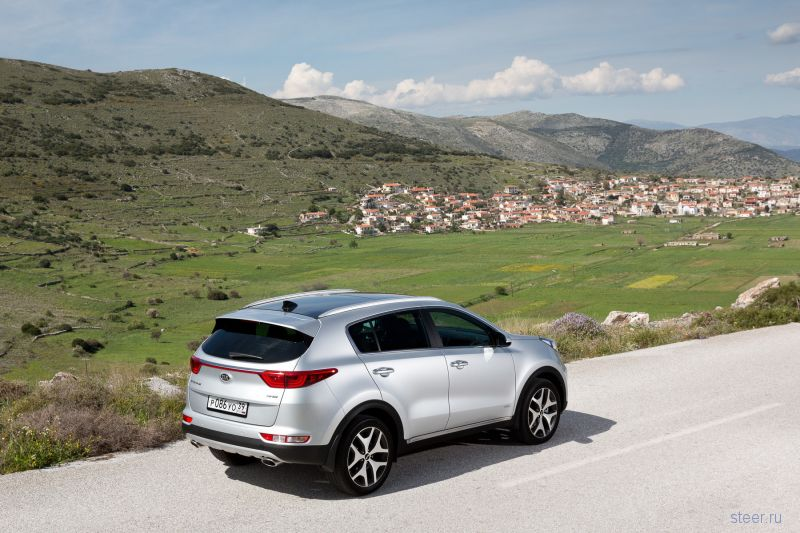 Стартовали продажи нового Kia Sportage: от 1 189 000 рублей