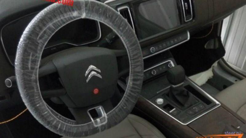 Первое фото интерьера возрожденного Citroen C6