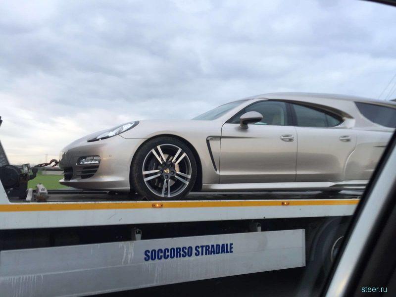 В последний путь красиво: катафалк из Porsche Panamera