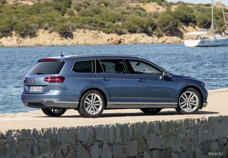 Универсал VW Passat поступил в продажу по цене от 1,76 млн рублей
