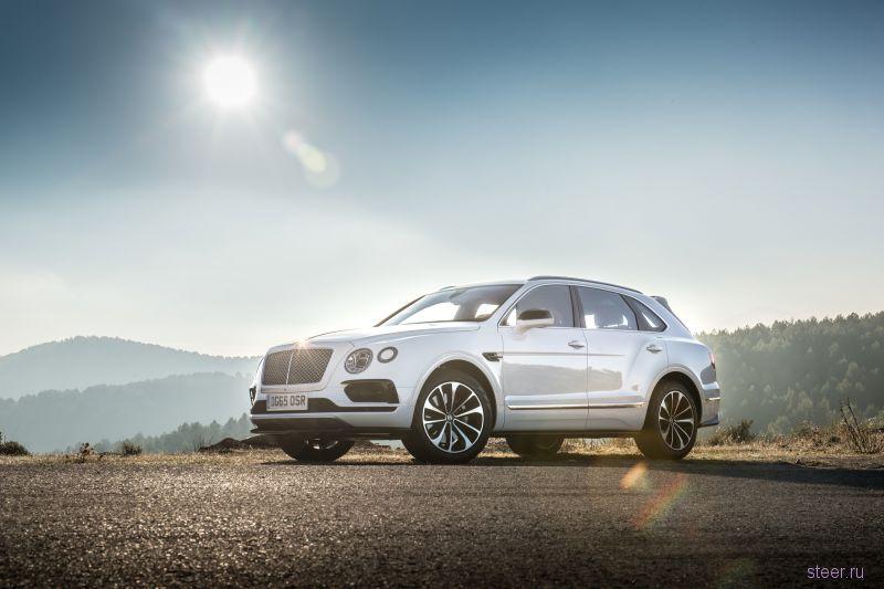 Кроссовер за 17 млн Bentley Bentayga : в России уже в апреле