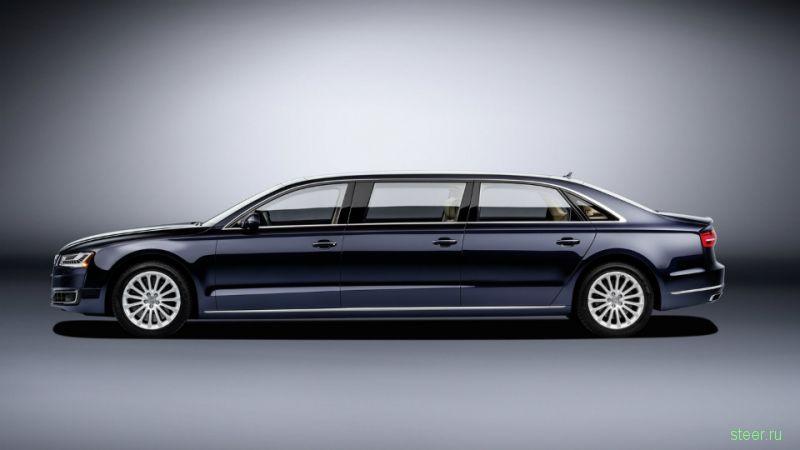 Спецзаказ: шестидверный лимузин на базе Audi A8