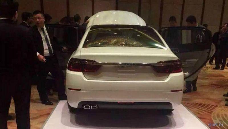 Первые фото нового Citroen C6